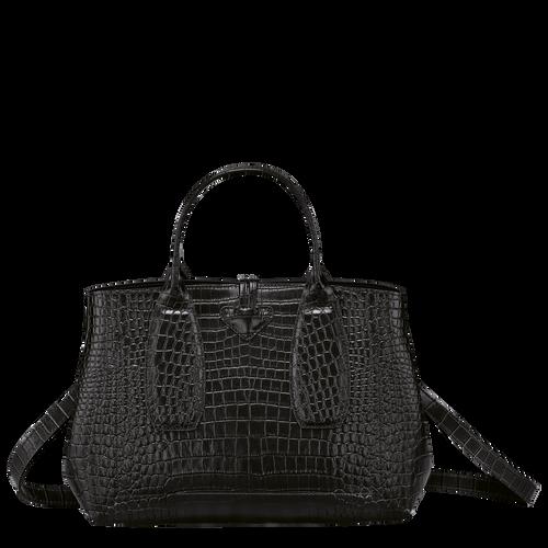 Top handle bag M, Black/Ebony - View 4 of 4 -