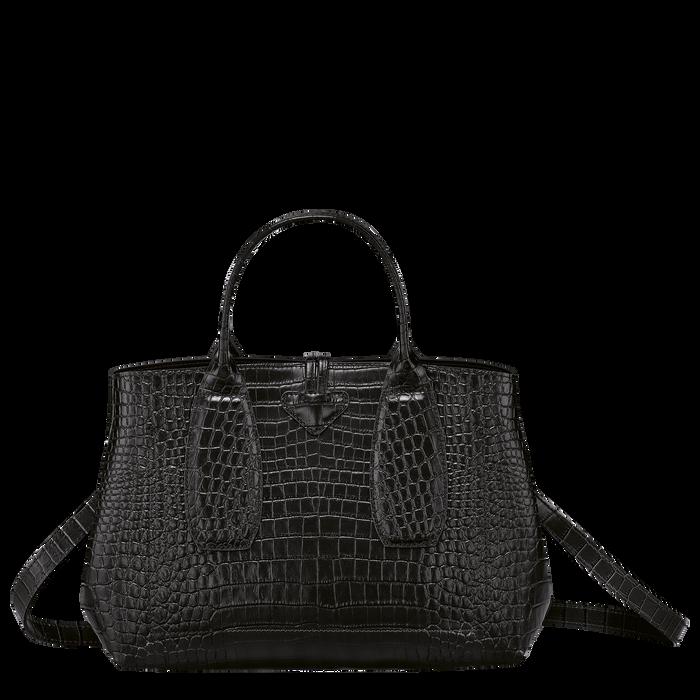 Top handle bag M, Black/Ebony - View 4 of 4 - zoom in