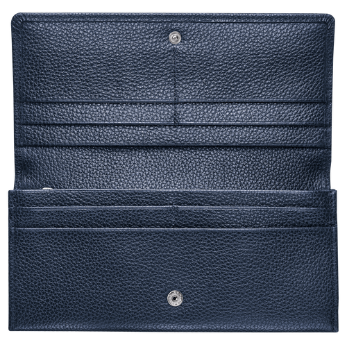 Long continental wallet, Navy, hi-res - View 2 of 2