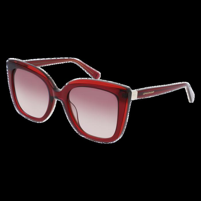 眼鏡 太陽眼鏡, 酒紅色