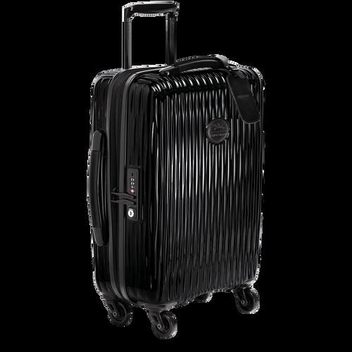 Koffer voor handbagage, Zwart/Ebbenhout - Weergave 2 van  3 -