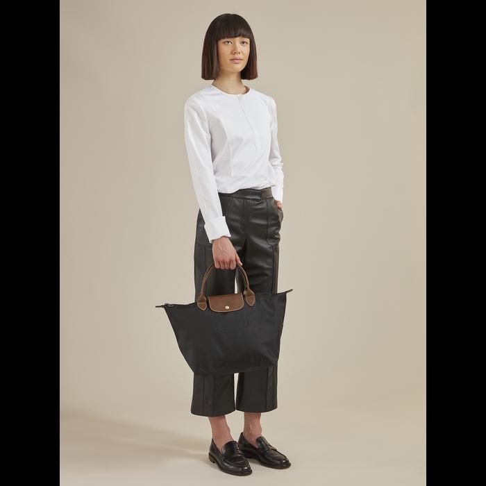 Le Pliage Original Top handle bag M, Desert