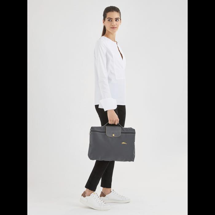 Briefcase, Brown, hi-res - View 2 of 4