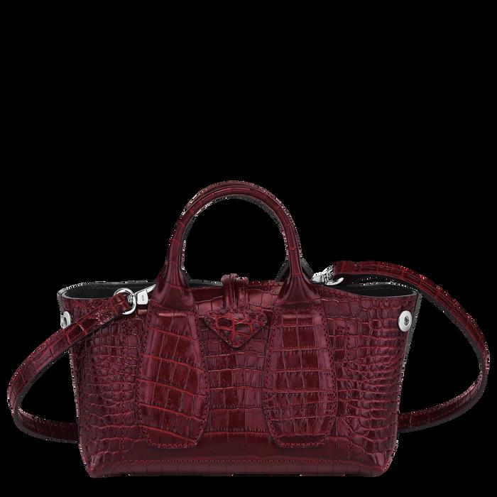 Top handle bag XS, Burgundy - View 4 of 4 - zoom in