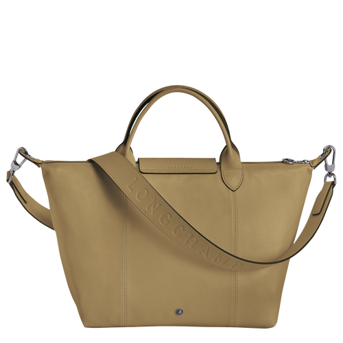 Top handle bag M, Khaki - View 3 of  3 -