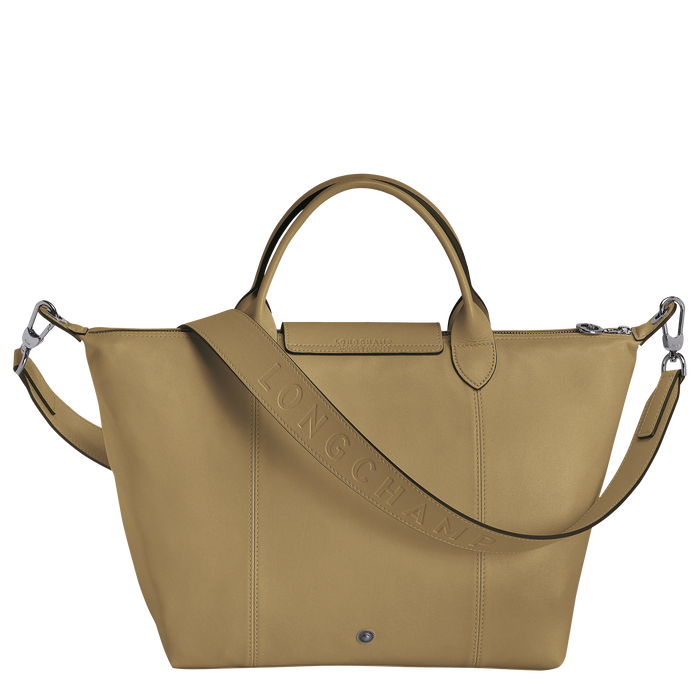 Top handle bag M, Khaki - View 3 of  3 - zoom in