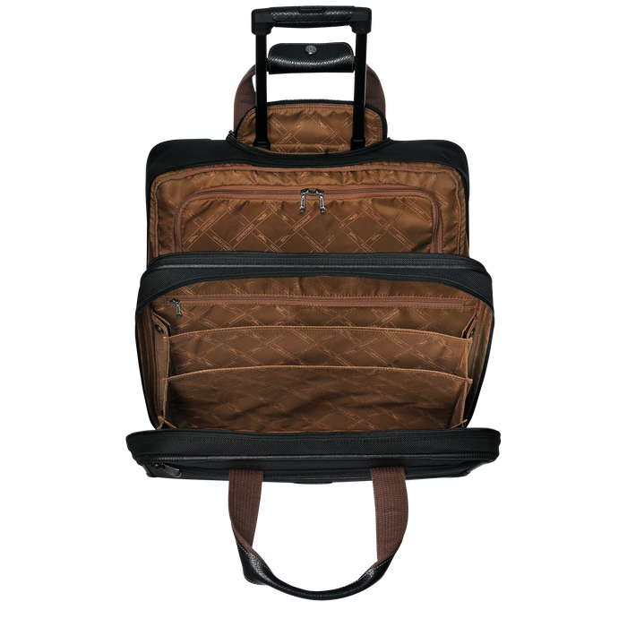 Porte-documents à roulettes Boxford Noir (L1476080001) | Longchamp FR
