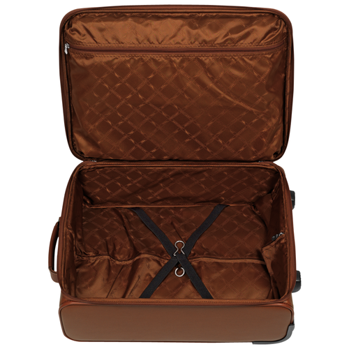 Small wheeled suitcase, 504 Cognac, hi-res