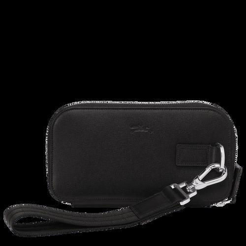 Long zip around wallet, Black, hi-res - View 3 of 3