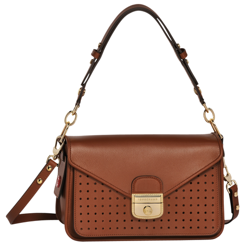 Hobo bag, Cognac, hi-res - View 1 of 3