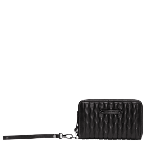 View 1 of Compact wallet, Black, hi-res