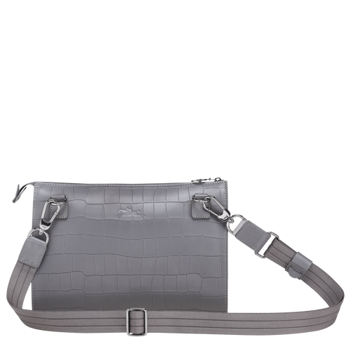 View 3 of Cross body bag, Grey, hi-res