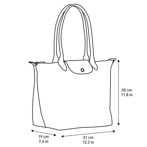 Shoulder bag L, Gun metal, hi-res - View 4 of 5