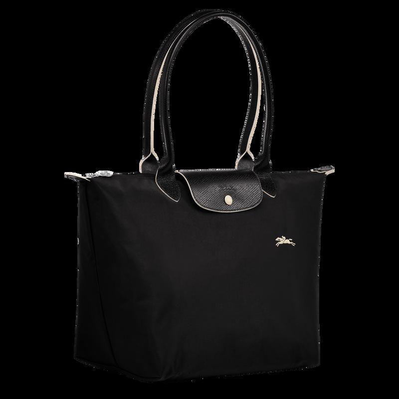 Shoulder bag L, Black/Ebony - View 2 of  5 - zoom in