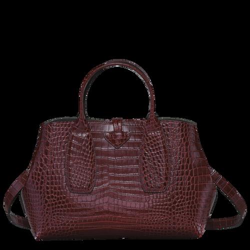 Handtasche M, Bordeaux - Ansicht 4 von 4 -