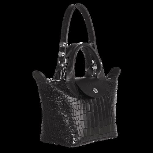 Mini sac porté main Le Mini Pliage Cuir Noir (L1500HMV001