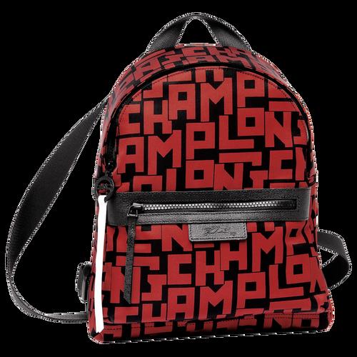 View 1 of Backpack S, C09 Black/Brick, hi-res