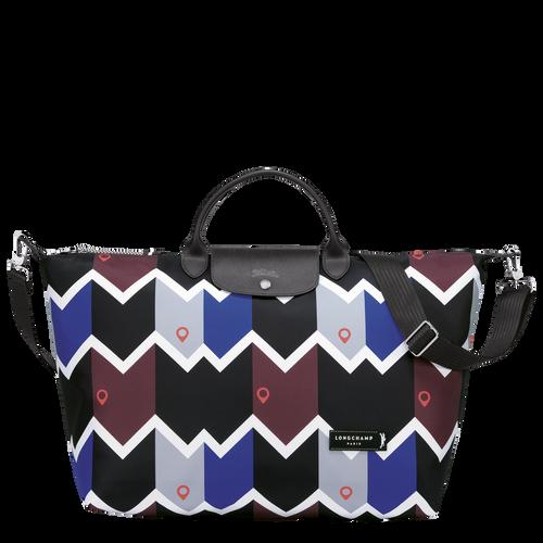 Travel bag L, Mahogany/Blue - View 1 of  3 -