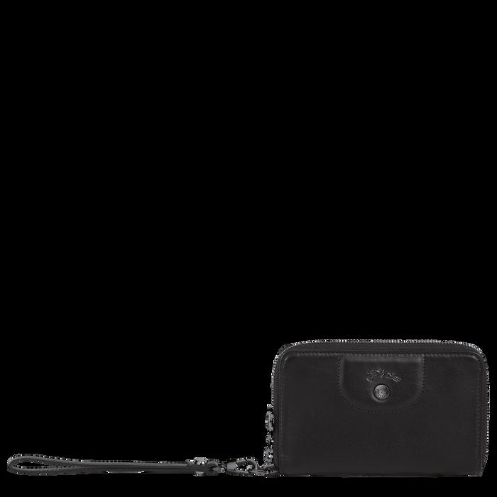 Le Pliage Cuir Compact wallet, Black
