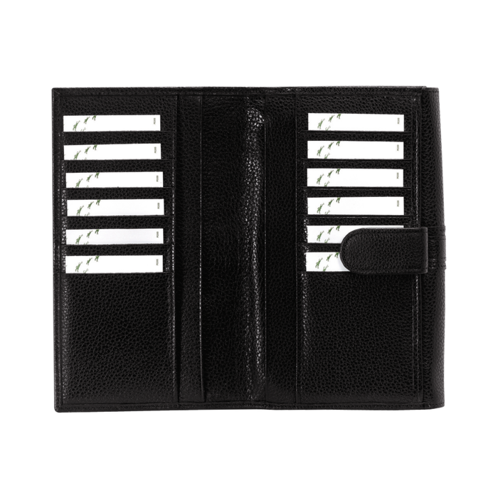 Long continental wallet, Black - View 3 of  3 - zoom in
