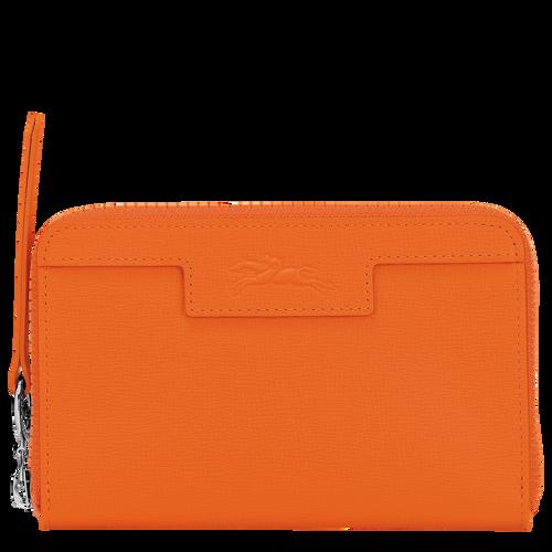 Compact wallet, Orange, hi-res - View 1 of 2