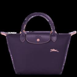 Top handle bag S, Bilberry