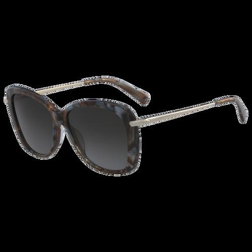 Sonnenbrillen, Marble Brown Azure - Ansicht 2 von 2 -