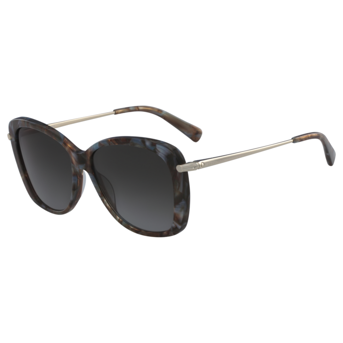 Sunglasses, Marble Brown Azure - View 2 of  2 - zoom in