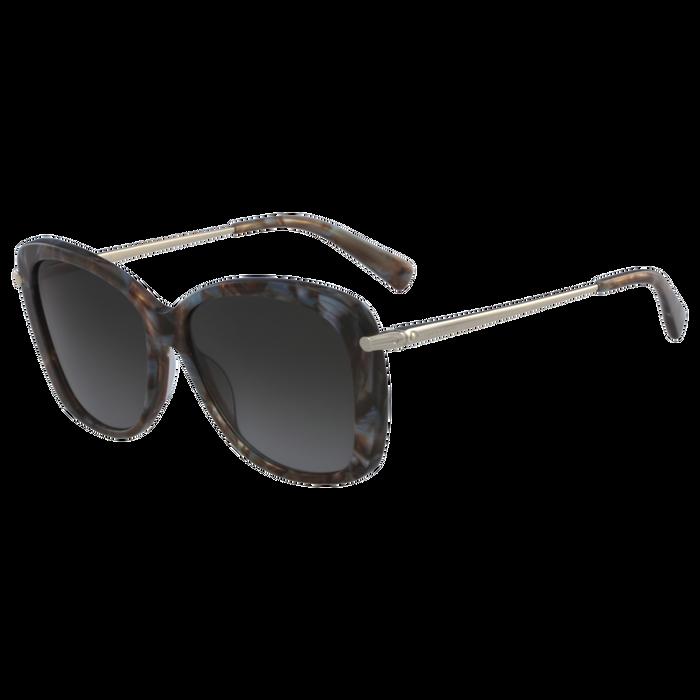 Sonnenbrillen, Marble Brown Azure - Ansicht 2 von 2 - Zoom vergrößern