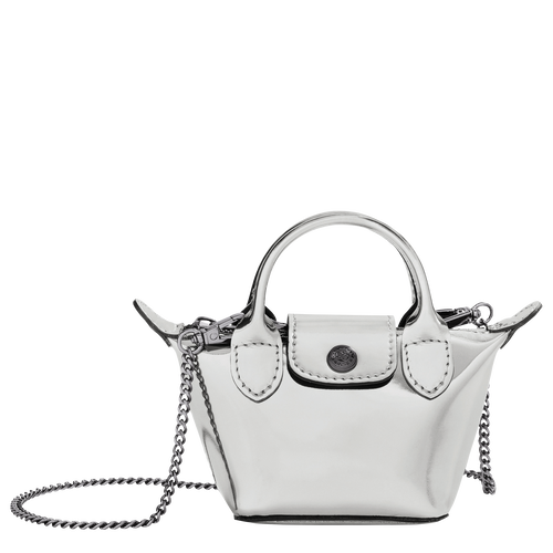 Crossbody bag XS, Silver - View 1 of  3 -