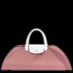 Handtasche S, E65 Pink/Weiss, hi-res