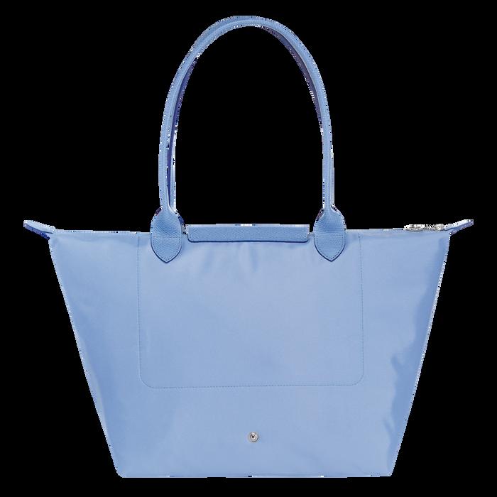 Shoulder bag L, Blue, hi-res - View 3 of 4