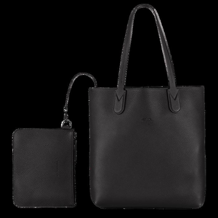 Shoulder bag, Black/Ebony - View 4 of  4 - zoom in