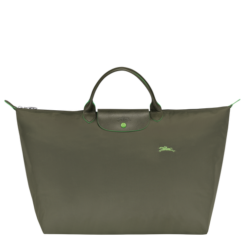 Le Pliage Club Travel bag L, Longchamp Green