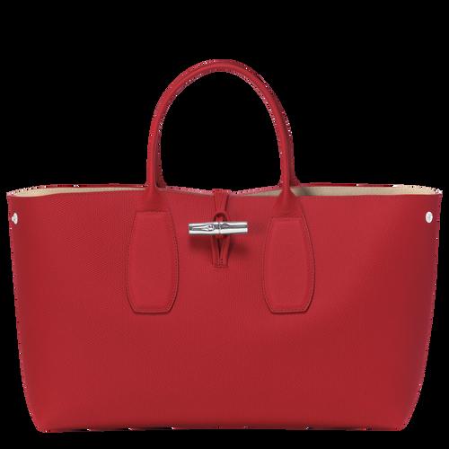 View 2 of Top handle bag L, Red, hi-res