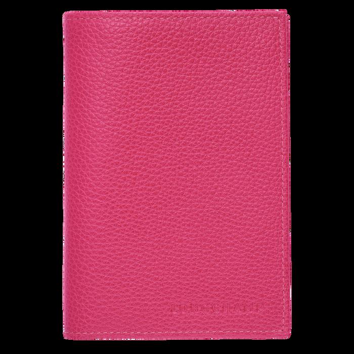 Le Foulonné Passport cover, Pink/Silver