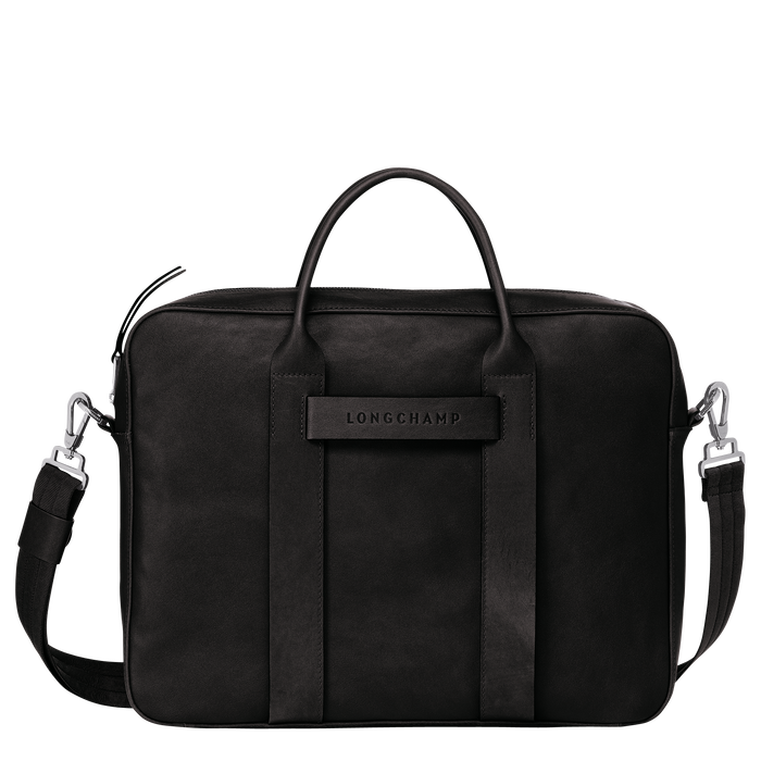 Briefcase M, Black/Ebony - View 1 of 3 - zoom in
