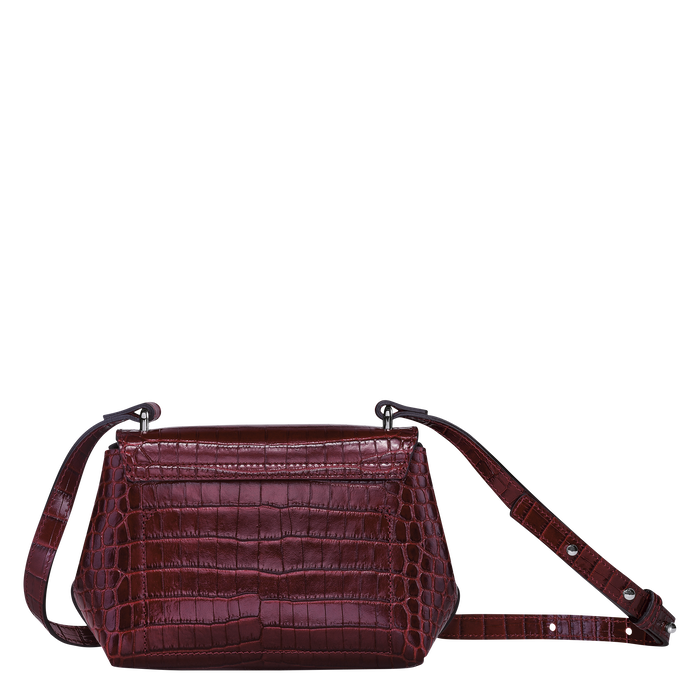 Crossbody bag S, Burgundy - View 4 of  4 - zoom in