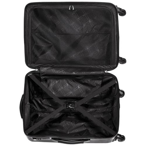 Vue 3 de Valise à roulettes, Noir, hi-res