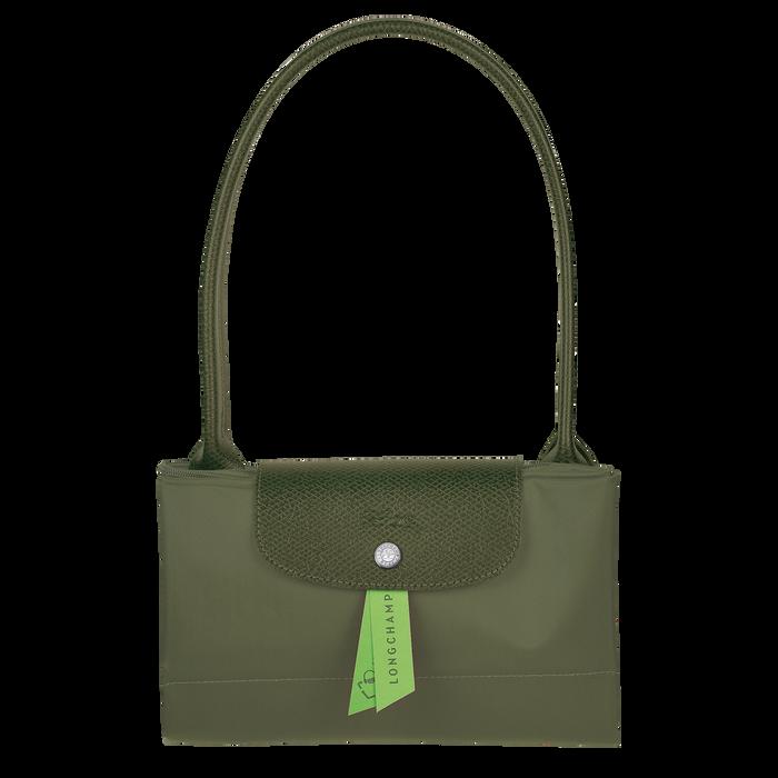 Le Pliage Green Schoudertas L, Groen