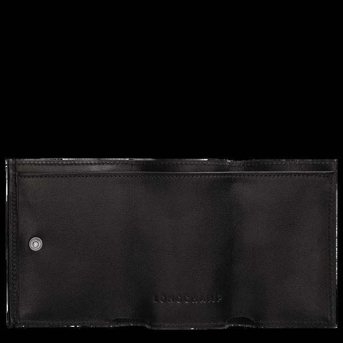 小型錢包, 黑色/烏黑色 - 查看 2 2 - 放大