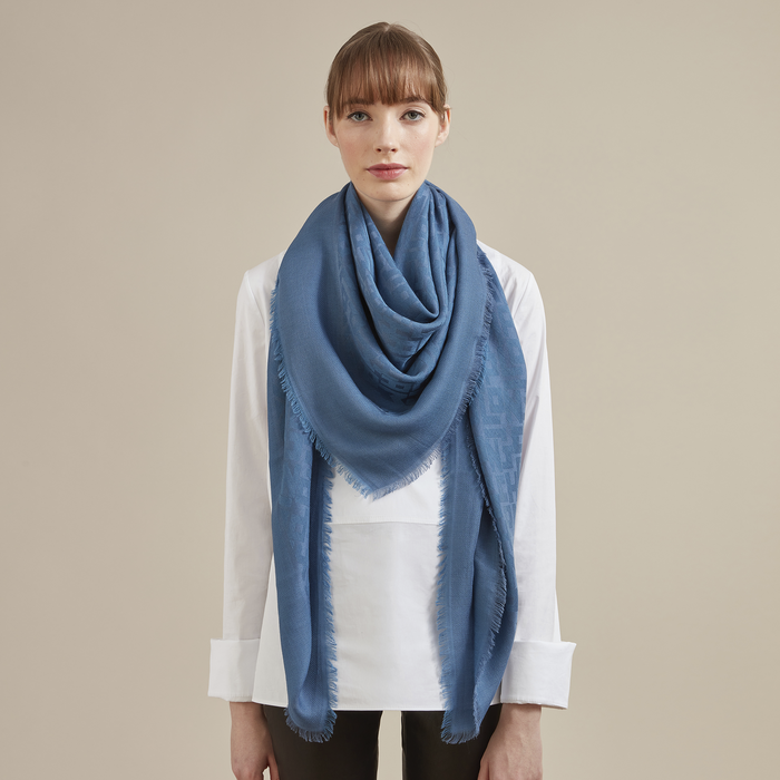 Spring-Summer 2021 Collection Ladies' stole, Peony