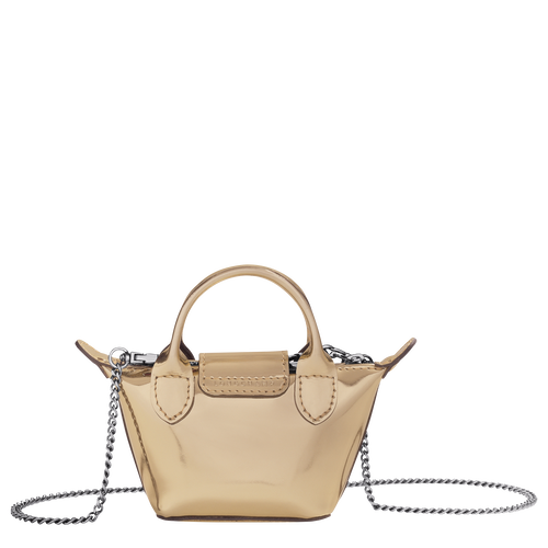Crossbody bag XS, Pale Gold - View 3 of 3 -