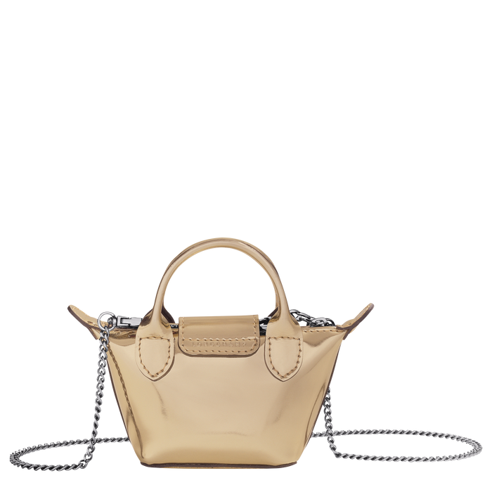 Crossbody bag XS, Pale Gold - View 3 of 3 - zoom in