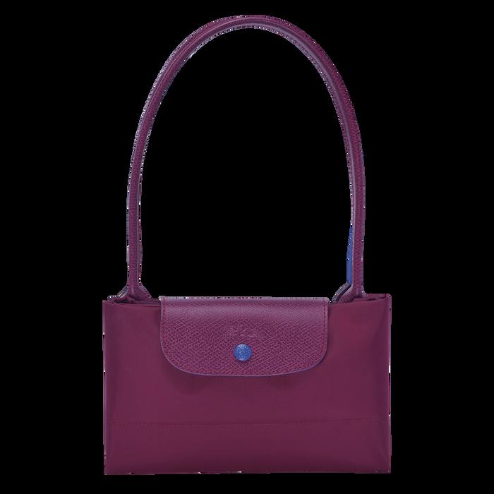 Shoulder bag L, Plum, hi-res - View 3 of 3