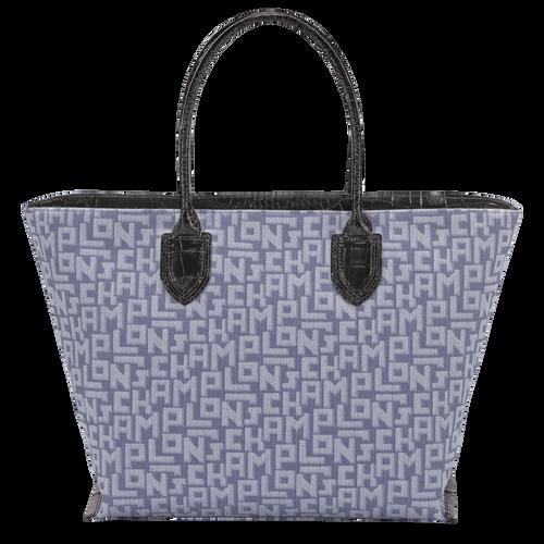 Top handle bag L, Blue - View 3 of  3 -