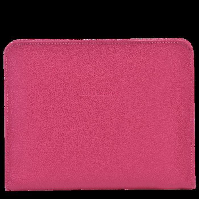 Le Foulonné iPad® case, Pink/Silver