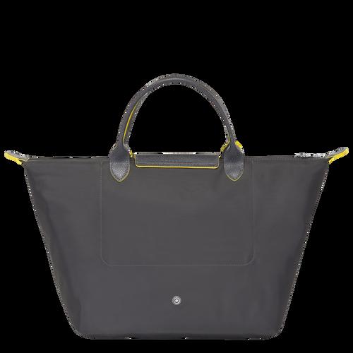 Le Pliage Club Top handle bag M, Gun metal