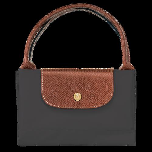 Le Pliage Original Top handle bag M, Gun metal