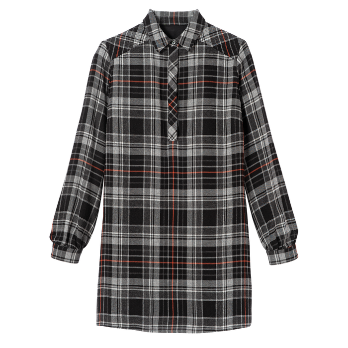 Fall-Winter 2021 Collection Short dress, Black
